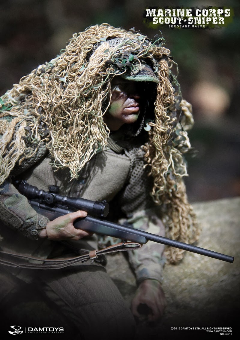 Dam Toys Marine Corps Scout Sniper Sergeant Major