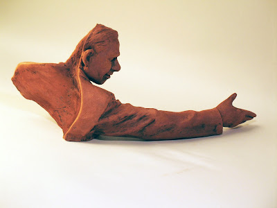 Shaker (maquette) - Bob Trotman; 2012; terra cotta; Photo courtesy of the artist