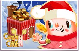 regalar tarjetas de navidad con candy crush saga