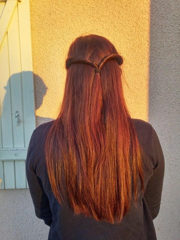 Mes cheveux en ce moment