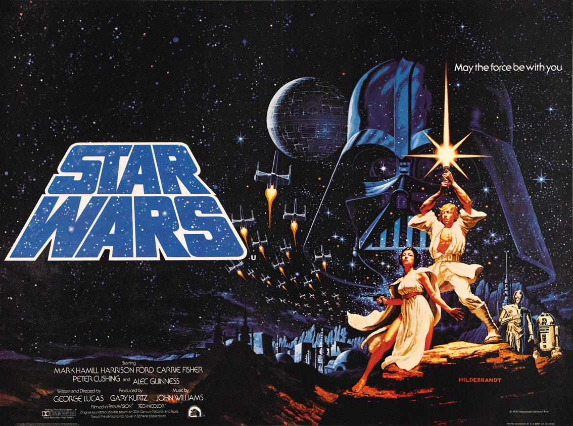 La guerra de las galaxias star wars 1977 de george lucas