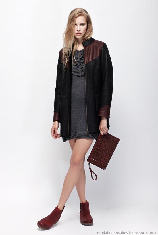 Camperas mujer moda invierno 2013 Prune.