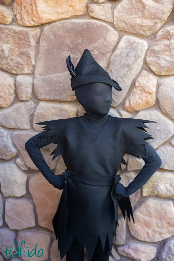 PETER PAN´S SHADOW COSTUME / DISFRAZ SOMBRA DE PETER PAN