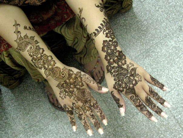 Mehndi Designs Hands Arabic Latest : Latest mehndi design arabic pictures