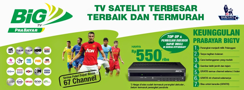 Matrix Big Tv Prabayar