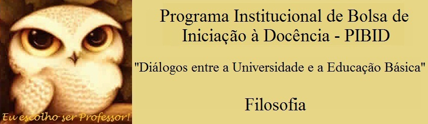 PIBID FILOSOFIA - PUC MINAS