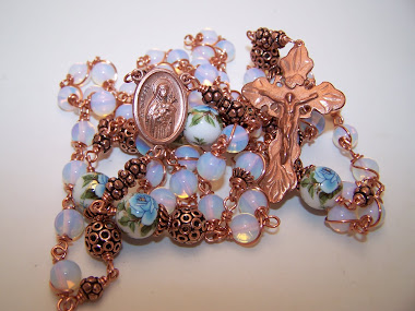 No. 143.  Custom Rosary Of Saint Teresa