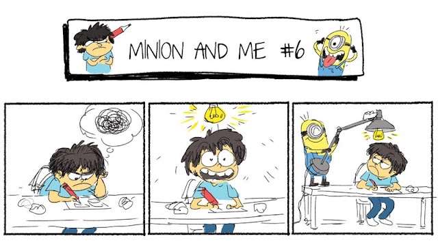 Minion and Me #6 - Inspiration
