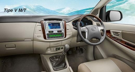 Interior Toyota Grand New Kijang Innova 2014