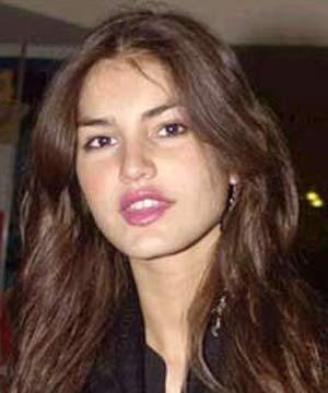 ... Casablancas when she was thirteen years old . Juliana Martins hot bikini