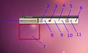 Distintas formas de grabar el escritorio en Ubuntu, xvicap ubuntu,