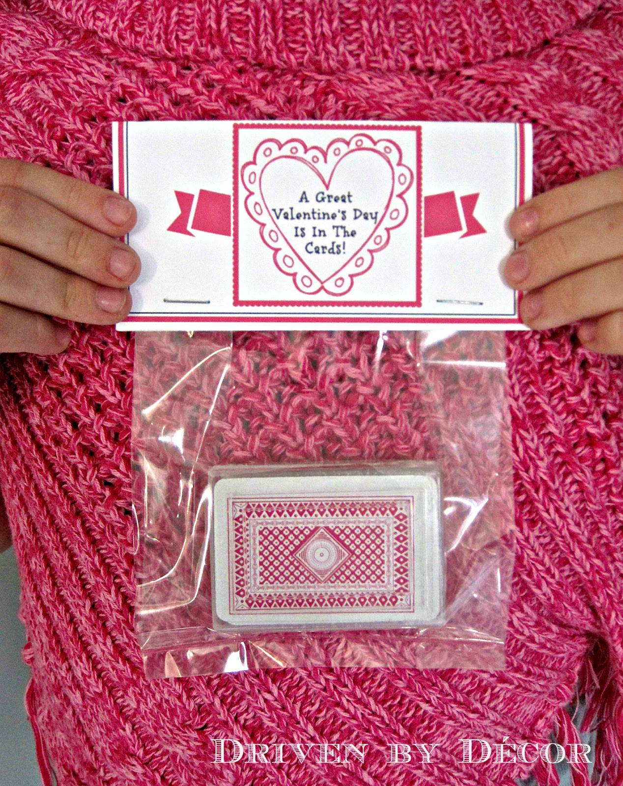 CandyFree Kids Valentines Day Cards – Valentine Playing Cards