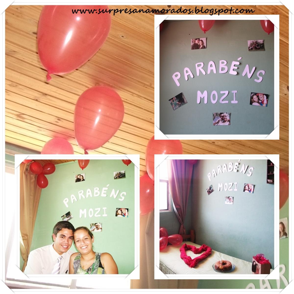 Festa Surpresa No Quarto Do Namorado ~ Surpresa no Quarto do Dudu  Surpresas para Namorados
