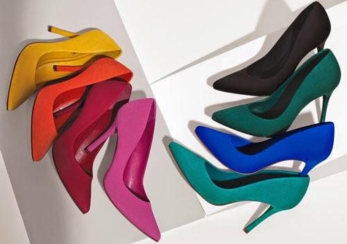 coleção Arezzo scarpin nobuck diversas cores para Copa do Mundo