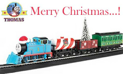 Island of Sodor Merry Christmas Winter Holiday Special scale model HO Bachmann Thomas the train set