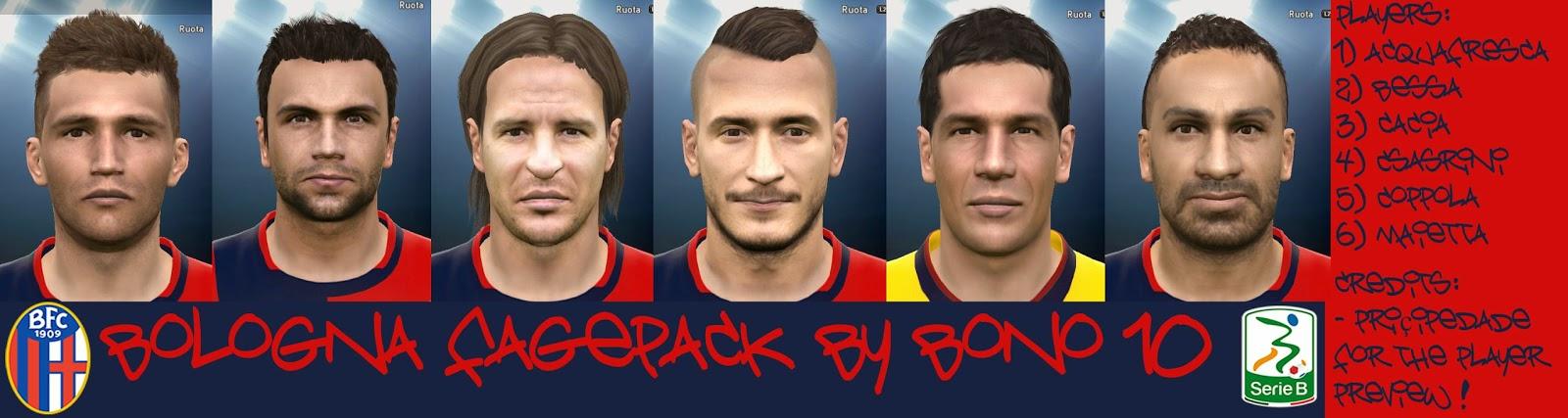 PES 2015 Bologna Facepack by Bono10