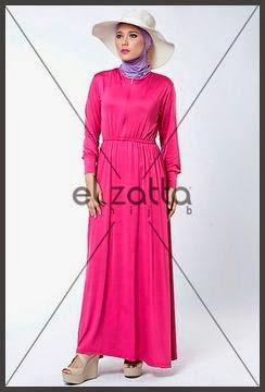 Model Baju Muslim Elzatta Terbaru Model Baju Muslim