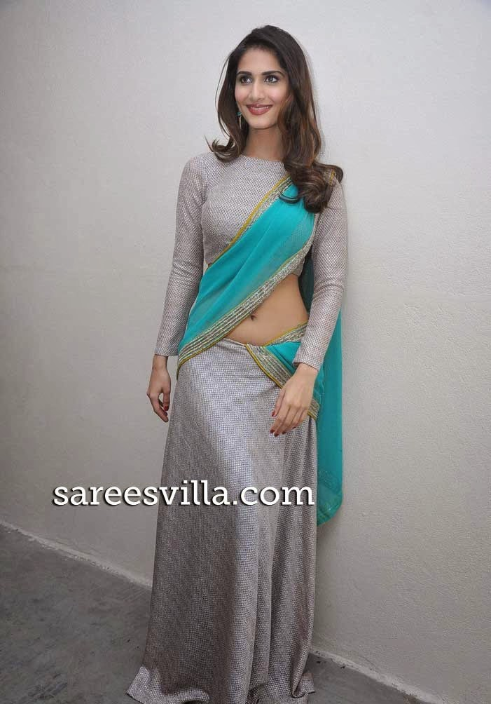 Vaani Kapoor In Half Saree