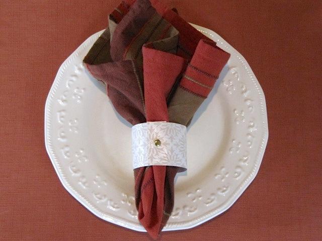 Sew Many Ways Tool Time Tuesday Holiday Napkin Ring