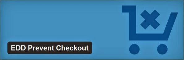 EDD prevent checkout plugin