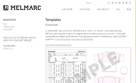 8 Resources to Learn about Garment Specification Sheet and – Spec Sheet Template