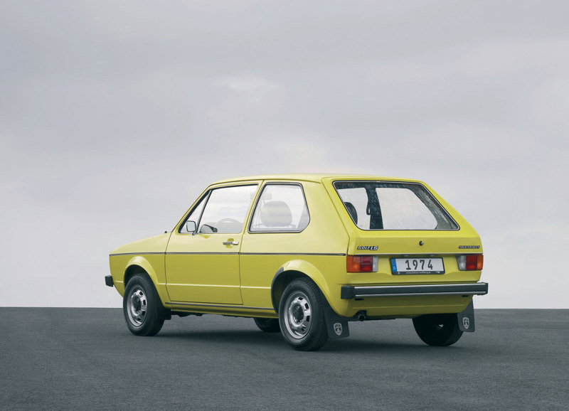 Auto Cars Project Vw Golf I 1974