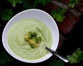 Cool-as-a-Cucumber Avocado Soup (A Veggie Venture)
