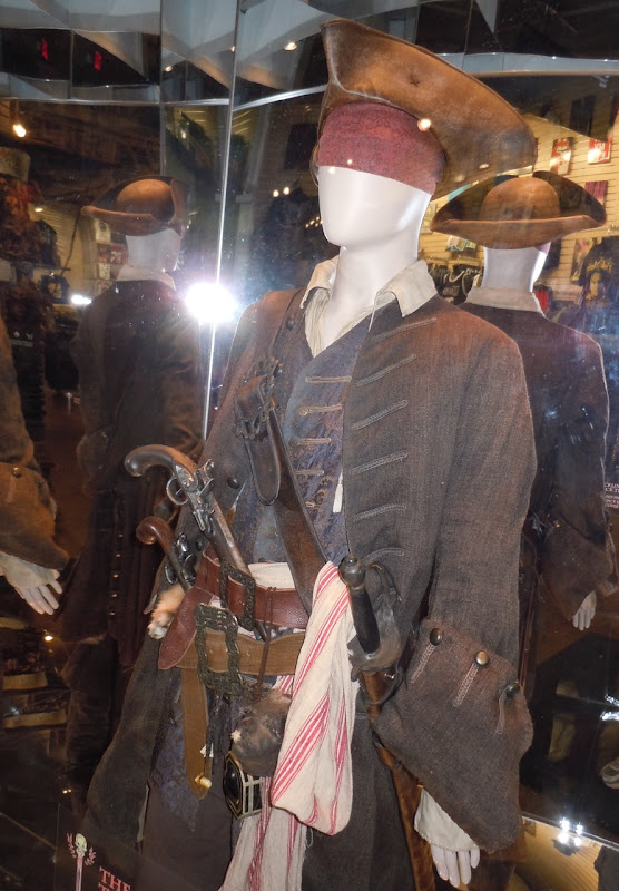 Captain Jack Sparrow film costume
