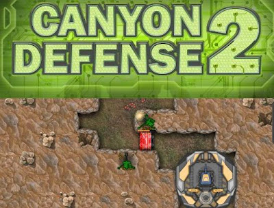 Canyon Defense 2 walkthrough cheats.
