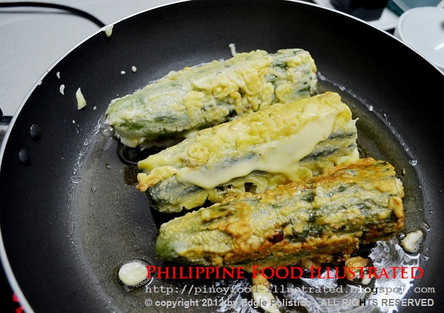 how to cook ampalaya with egg