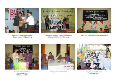 Kegiatan Rumah Anak Asuh Yayasan Bening Nurani
