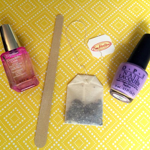 Pinned and Tried: Fix Cracked or Split Nails with Tea Bags - Beauty ...