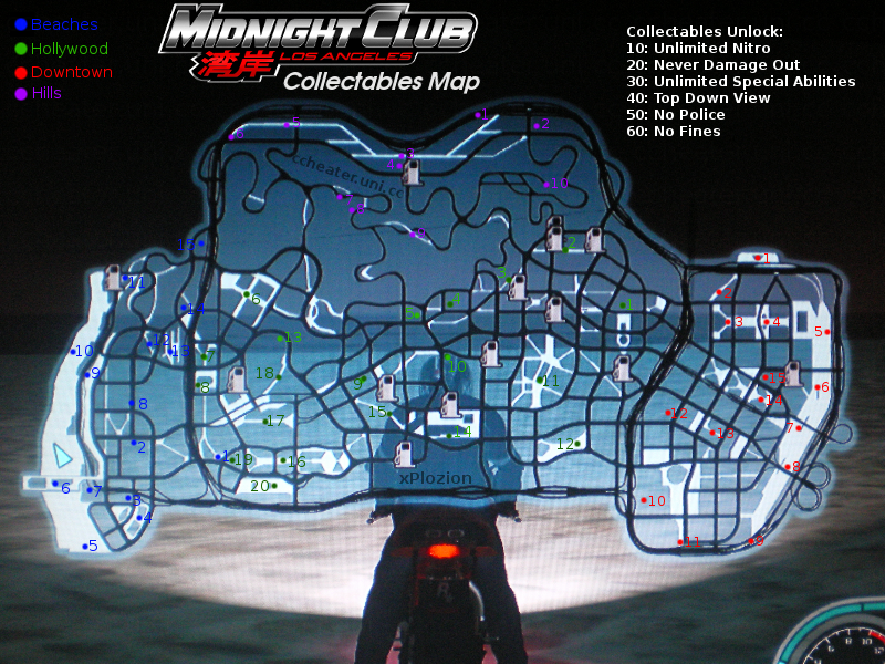 Cheats For Midnight Club L.A Complete Edition For Ps3