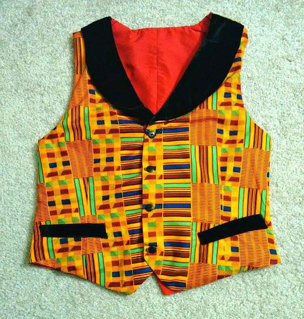 Kente inspired vest