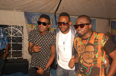 Photos Of MI, Ice Prince, NaetoC, Dr SID and Others with Fans at The Star Music Trek Lokoja