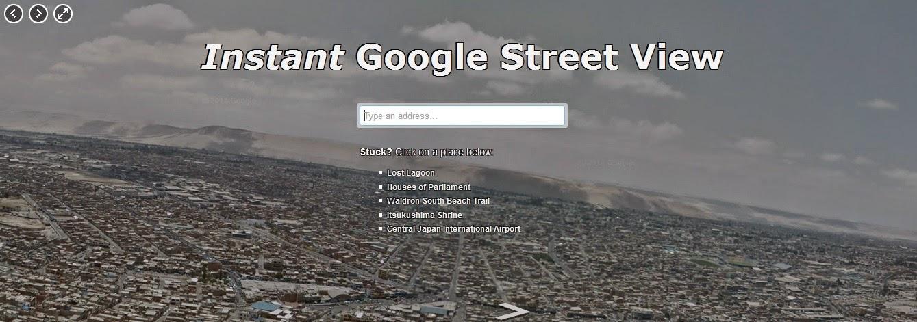 http://www.instantstreetview.com/