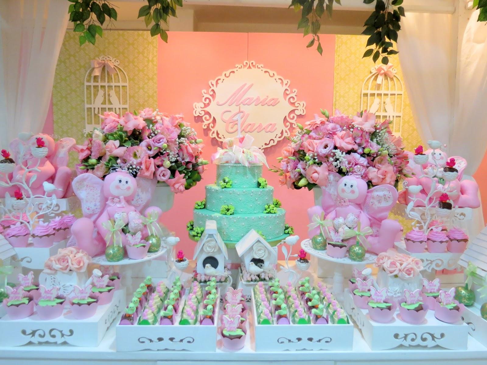 Festa Provençal  Site Oficial Borboletinhas rosa e verde!!