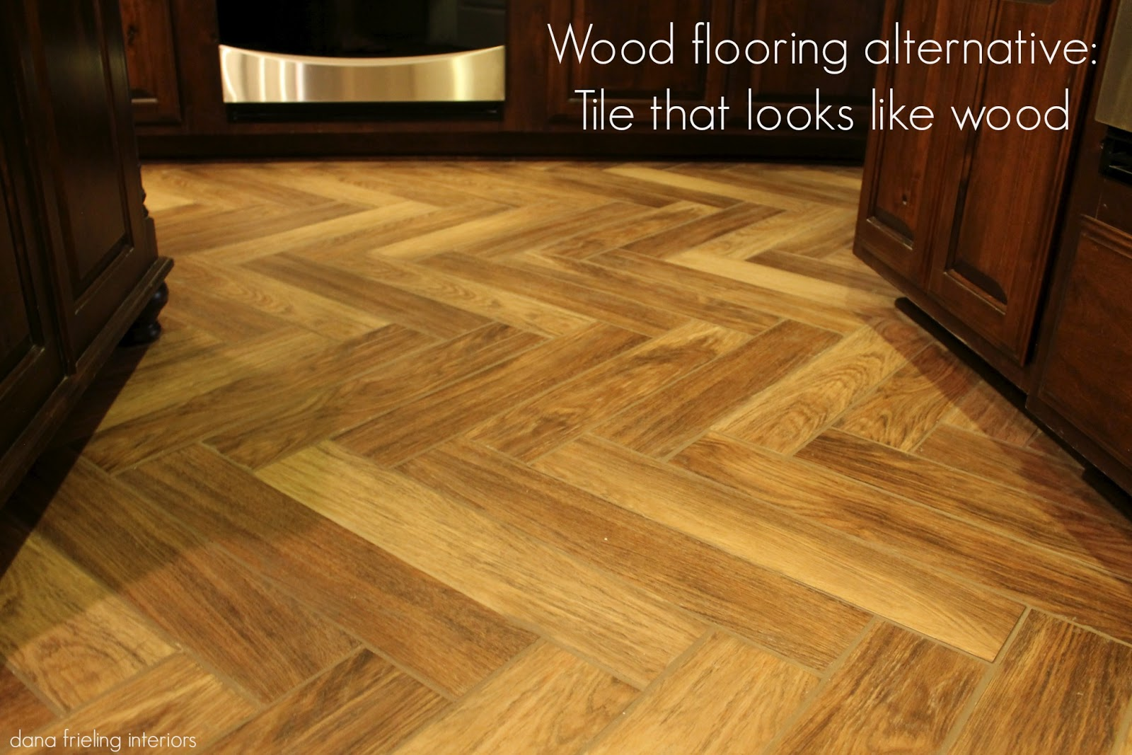 Make them wonder another wood floor alternative Tile looks like wood floor