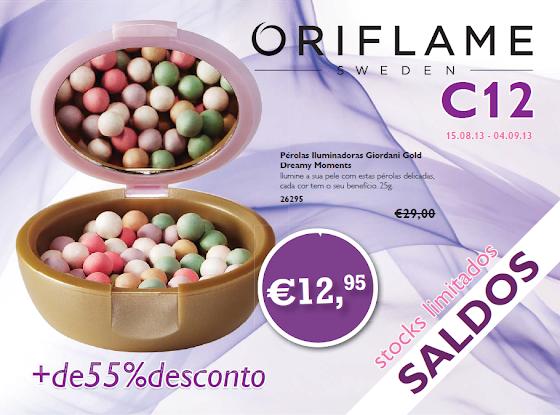 Flyer do Catálogo 12 de 2013 da Oriflame