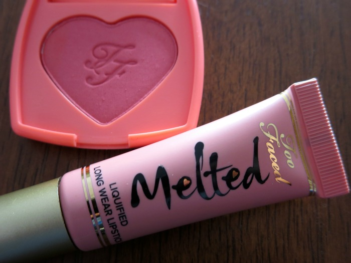 Too Faced Melted Nude and Love Hangover