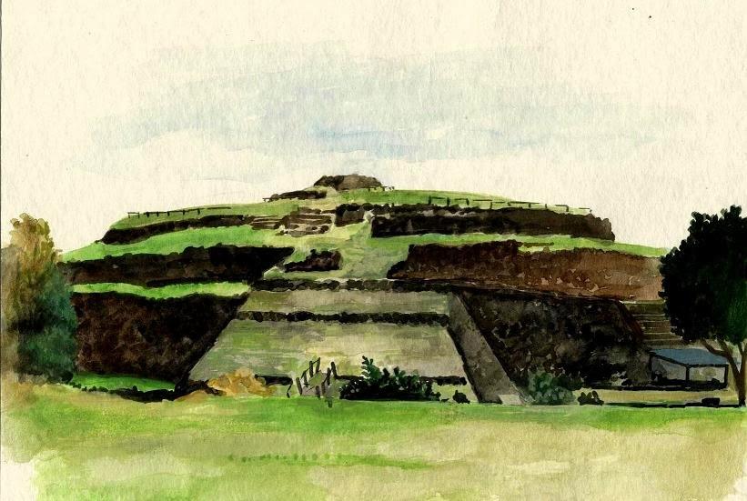 Pirámide de Cuicuilco