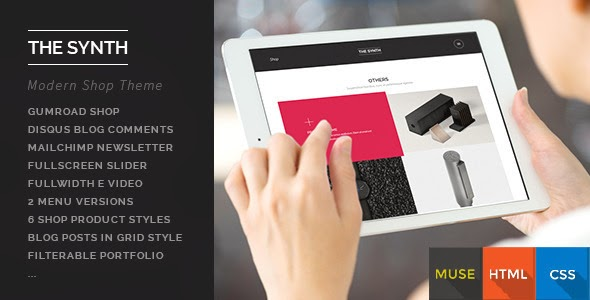 New responsive muse theme