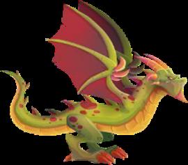 imagen del dragon wyvern adulto