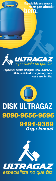 Ultragaz, especialista no que faz!