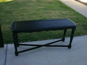 Black Sofa Table  *SOLD*