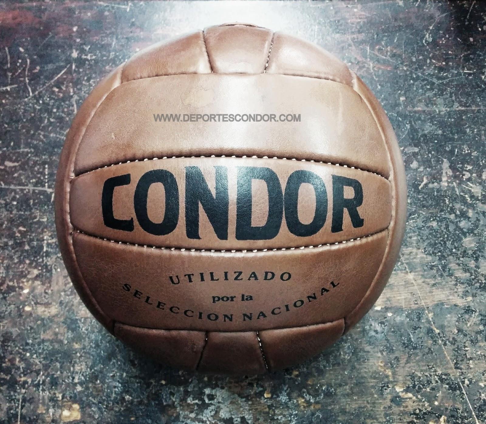 balon, futbol, condor, vintage