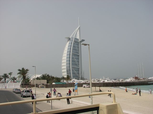 Sy aspen rock to rock dubai trip for Sail shaped hotel dubai