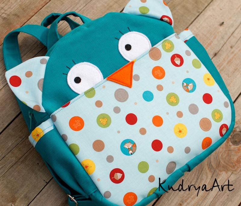 Рюкзак для малышей 2 года своими руками