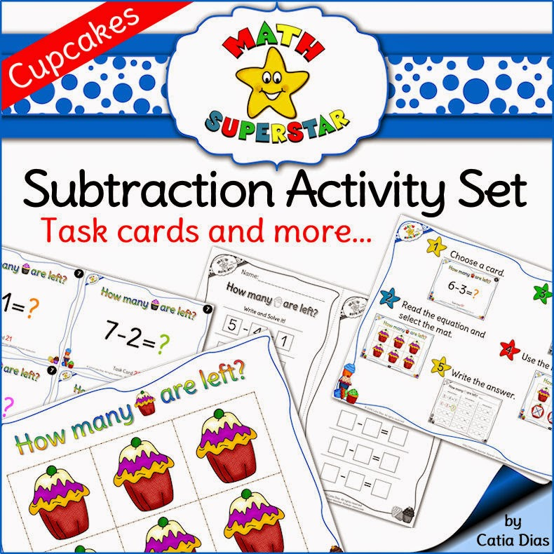 Subtraction Activity Set