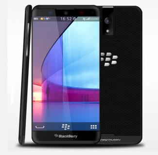 Technology BlackBerry Phablet